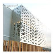 Guangzhou Alufront Aluminium Co.,Ltd. Aluminum Grille Decorative Wall