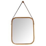 Decorative mirror hanging bamboo mirror for wall