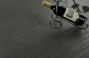 Grey strandwoven bamboo flooring