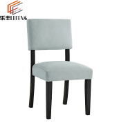 Contemporary Restaurant Wooden Side Chair For Sale