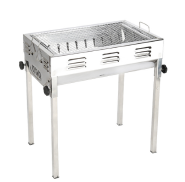 Stainless steel grill outdoor multi-function folding grill