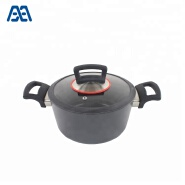 Wholesale white kitchenware/ cooking pot and pan/ aluminum cookware set
