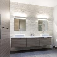 Hotel bathroom mirror customized