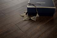 Tobacco strandwoven bamboo flooring