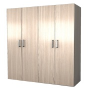 Customized Stylish Swing Door Wardrobe Closets