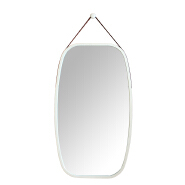 Decorative bamboo wall mirror