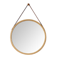 New design bamboo mirror frame for home