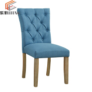 Italian Wooden Upholstered Dining Side Chairs