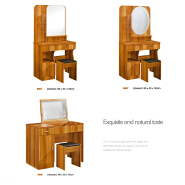 Small Bedroom Multi Function New Model Dressing Table