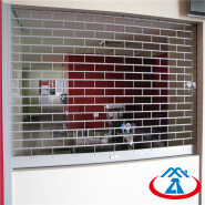 Automatic Vertical Good Quality Electric Stainless Steel Grill Rolling Door