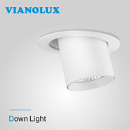 Add to CompareShare Hot Sale High Lumens Recessed COB 30w 40w retractable downlight