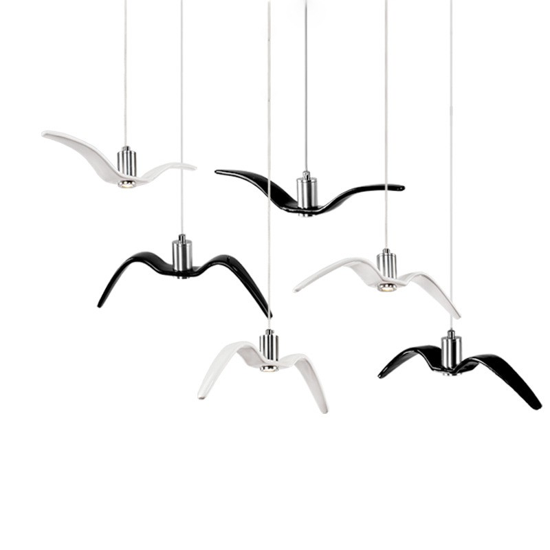 Modern Nordic Three Creative Lights Chandelier For Restaurant