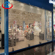 Polycarbonate Transparent Roller Shutter Door for Commercial Store PC Security Door Automatic