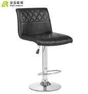 Chromed base PU seat counter modern dining antique bar stool chair