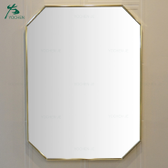 wall mirror gold octagon large antique mirror
