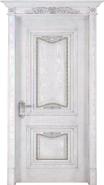 Hot Selling Good Quality Classic Design wood grain handcraft solid wooden door(WD-414)