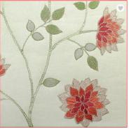 Gorgeous Luxury Non-woven Embroidery Wallpaper
