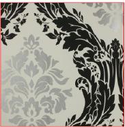 Elegant & Classic Damask Exquisite Design Non-woven Designer wallpaper