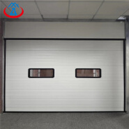 Factory Price Automatic Industrial Rolling Door with from Guangzhou