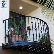 Hongtu Wrought Iron Industrial Co., Ltd. Stainless Steel Railing