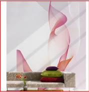 Modern Design Digital Printing Non-woven 3D Office Wallpaper