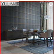Modern Squares Design High-end Non-woven Wallpapers for Wall