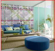 Modern Design Digital Printing Non-woven 3D Wall Covering