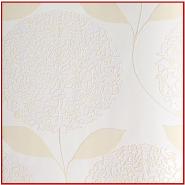 Flocked Non-woven Korean Wallpapers Flower Bedroom Wallpaper