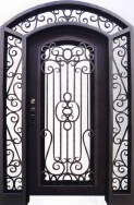 Hongtu Wrought Iron Industrial Co., Ltd. Steel Doors