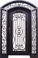 Hongtu Wrought Iron Industrial Co., Ltd. Steel Doors