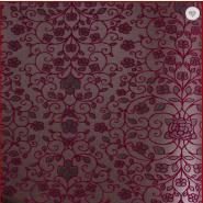 European Florall Design Non-woven Flock Wallpaper Wholesale