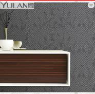 Fashion Design 70cm High-end Non-woven Black and White Wallpaper