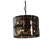2019 modern smoky gray round pendant lamp for home or hotel