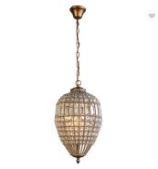 Modern K9 Clear Crystal beads Light handmade Pendant Lamps for hotel
