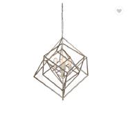 Modern iron art chandelier Italian gold pendant lighting for dining room