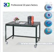 Laser Cut Simple Steel Office Desk
