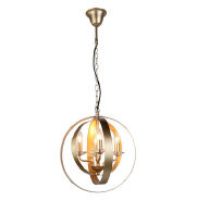 American style simple chandelier iphone gold 4 lamp candle lamp dining room bedroom Pendant lamp