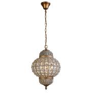 Modern golden globular iron art stair dining-room porch pendant lamp