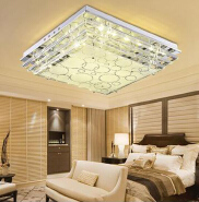 Luxury glass led ceiling lamps for living and dining room