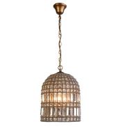 Modern American living room decoration K9 clear crystal pendant lamp