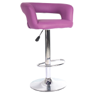 Wholesale furniture height adjustable industrial metal base leisure cafe chair