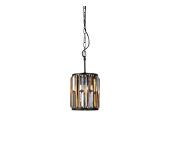 Classic luxury atmospheric amber crystal iron art living room dining room bedroom chandelier