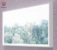 GM-6008 Italian designed solid surface artificial stone Mirror