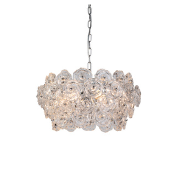 Hot sale modern glass chandelier indoor decorative pendant lamp