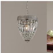 Crystal mini mansion pendant light for children room