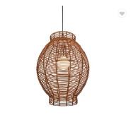 2019 nice design handmade rattan pendant light