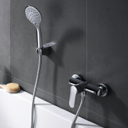 Wholesale single Handle in wall shower faucet with hand shower Bathroom Fittings mixer tap