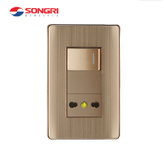 Songri 16A High Quality Italian Wall Switch Socket