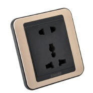 Quality Assured Panel two and three 5 pin multiple socket multi-function socket