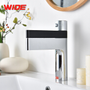 Newest design single handle bathroom thermostatic basin faucet for sale
